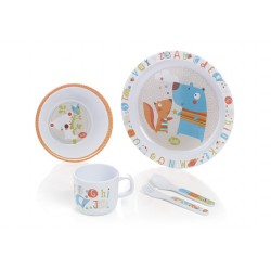 SET VAJILLA BASIC ABC MATERNAL