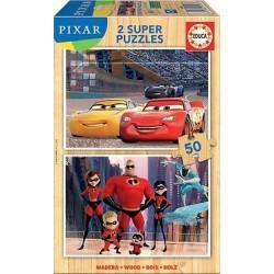 2x50 DISNEY PIXAR (CARS + THE INCREDIBLES)