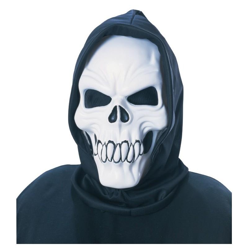 Mascara esqueleto fluorescente