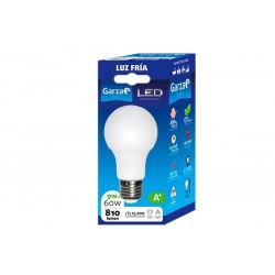 BOMBILLA LED GARZA ESTANDAR E27 6500K 9W 461460