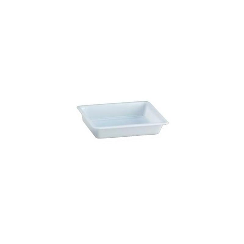 Cubeta rectangular 3 l. blanca