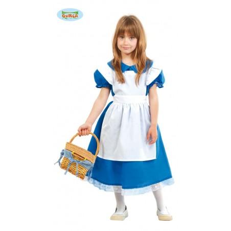 Disfraz Alicia 4-6 años.