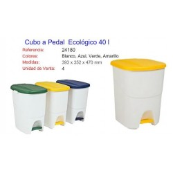 Cubo Ecológico 40 litros.