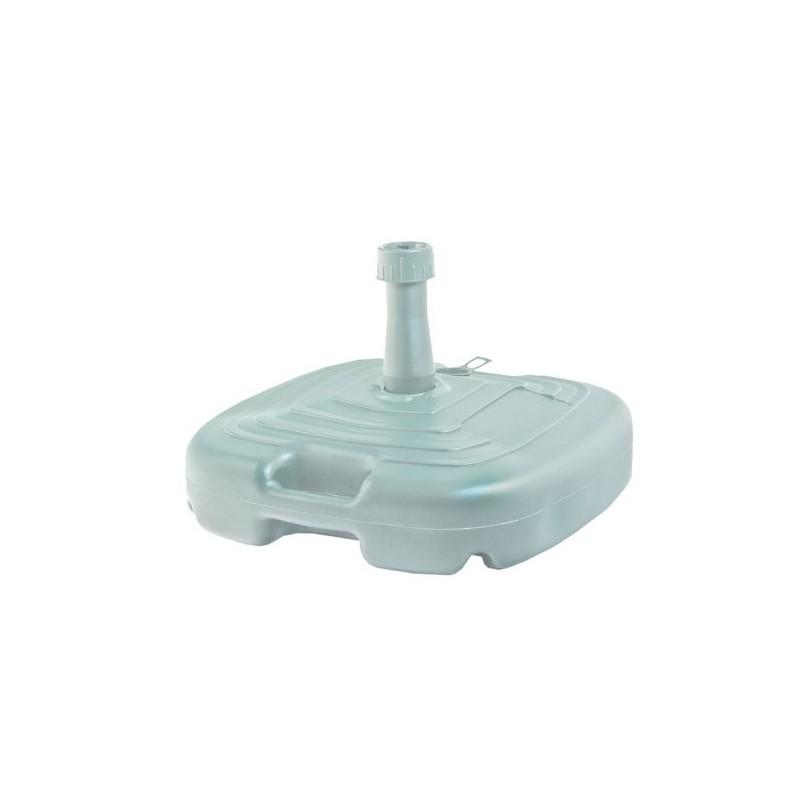 Base sombrilla plástico blanca