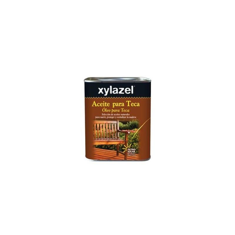 Aceite para teca incoloro 750 ml. Xylazel