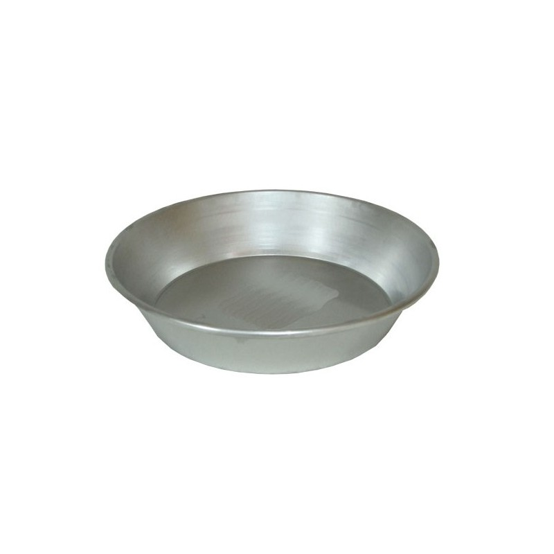 Bizcochera aluminio 6 huevos 25 cm.