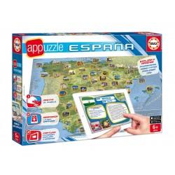 Appuzzle 150 piezas España, Educa 15946