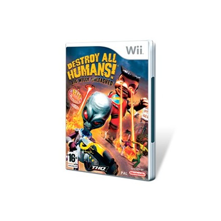 Destroy all humans! WII