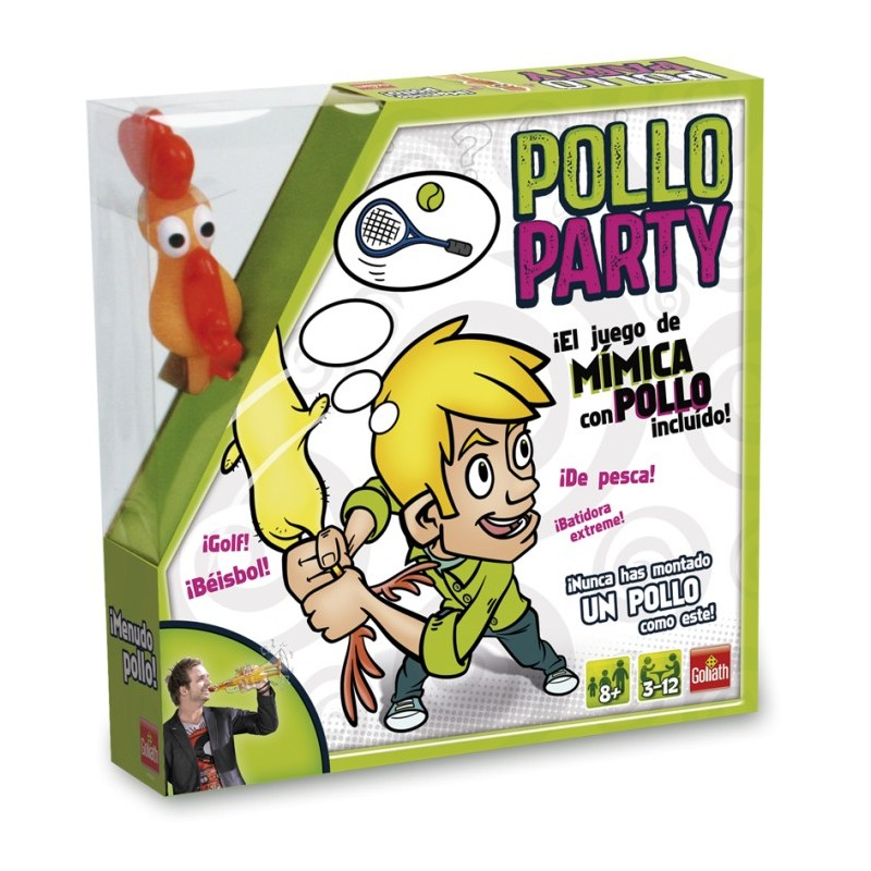 Juego Pollo Party de Goliath