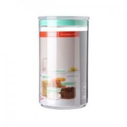Bote cocina 2 l. transparente verde