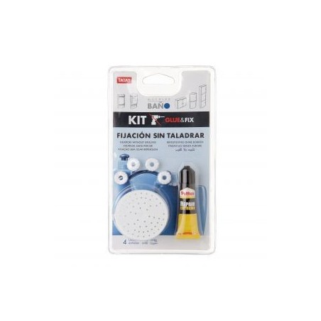 Kit glue & fix armarios baño.