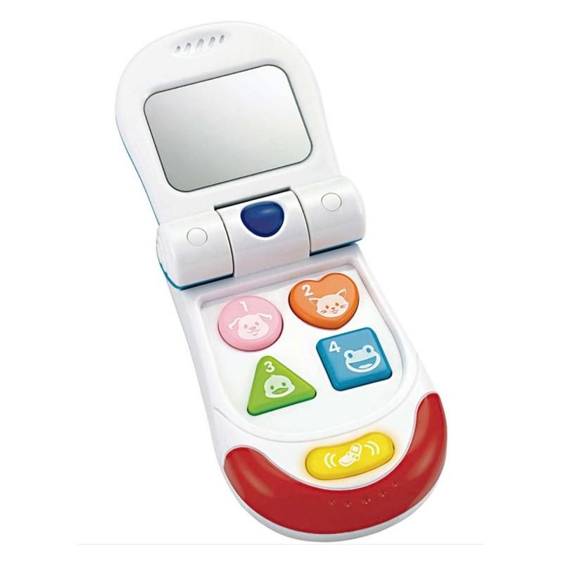 Mi teléfono móvil plegable.