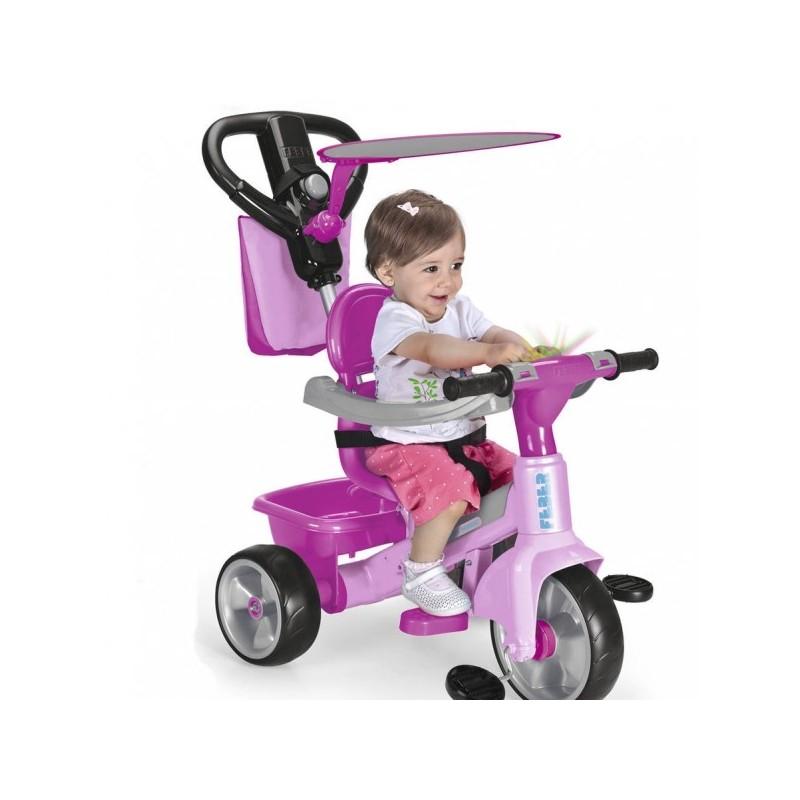 Triciclo Baby Plus Music Rosa de Feber