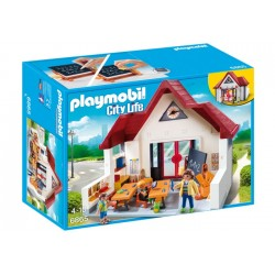 Colegio City Life Playmobil.