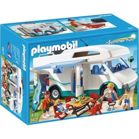 Caravana de verano Playmobil