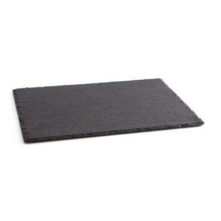 Pizarra asados rectangular.