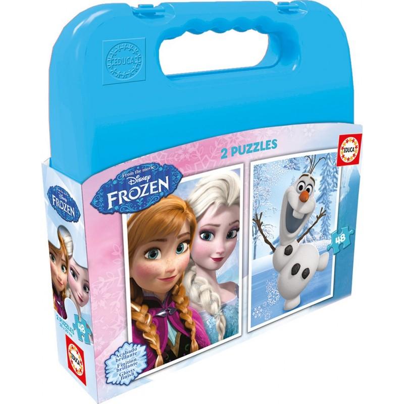 Maleta 2x48 Frozen