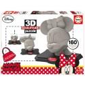 3D Sculpture Puzzle Minnie