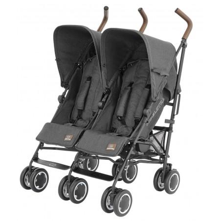 Silla de paseo gemelar - Simba Twin T4 - Denim Black