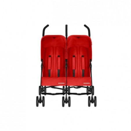 Silla de paseo gemelar - Simba Twin T4 - rojo