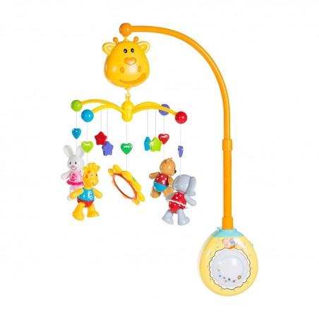 Carrusel jirafa musical