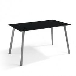 Mesa fija ALBA negra.