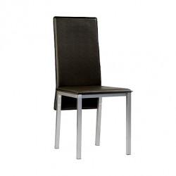 Lote de 4 silla NOVA negra.