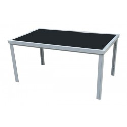 Mesa rectangular aluminio CAPRI