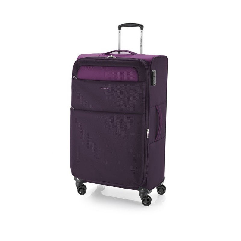 Trolley mediano Cloud Morado