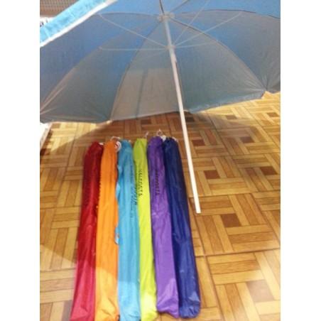 Parasol playa 180 cm. nailon.