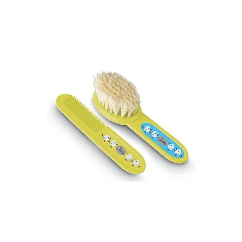 Cepillo y peine soft.