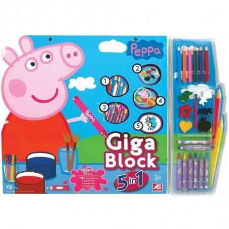 GIGA BLOCK PEPPA PIG