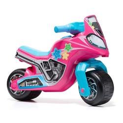 Moto correpasillos Molto Cross Race - Rosa