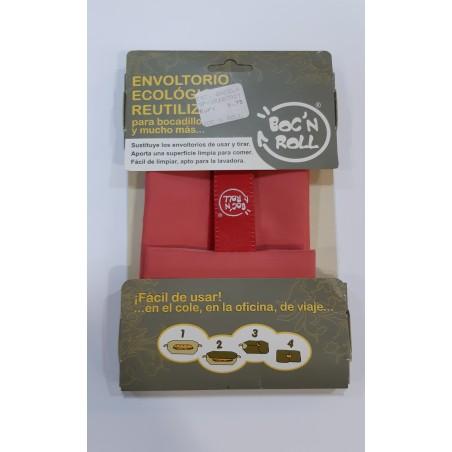 BOC'N ROLL Envoltorio ecológico reutilizable para bocadillos.