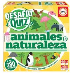 DESAFÍO QUIZ DESCUBRIRLOS ANIMALES Y NATURALEZA