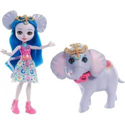 Muñeca Enchantimals con mascota Ekaterina Elephant