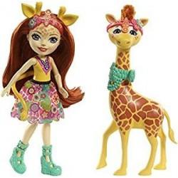 Muñeca Enchantimals con mascota Gillian Giraffe