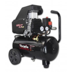 Compresor sin aceite con motor de 2,5 HP y calderín de 24 lt.