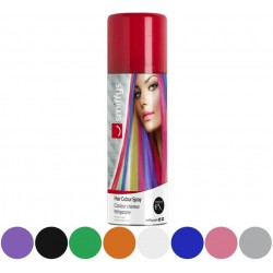 Spray de Pintura para Cabello de 125 ml en plata