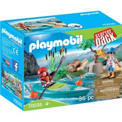 Playmobil Family Fun Aventura en Canoa