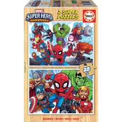2x25 MARVEL SUPER HEROE ADVENTURES