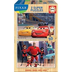 2x50 DISNEY PIXAR (CARS + THE INCREDIBLES)