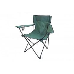 800418 SILLA CAMPING FISHER GDLC VERDE 50X50X42/80