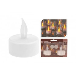VELA TEA LIGHT LED 2 UDS. A PILAS XX8990000