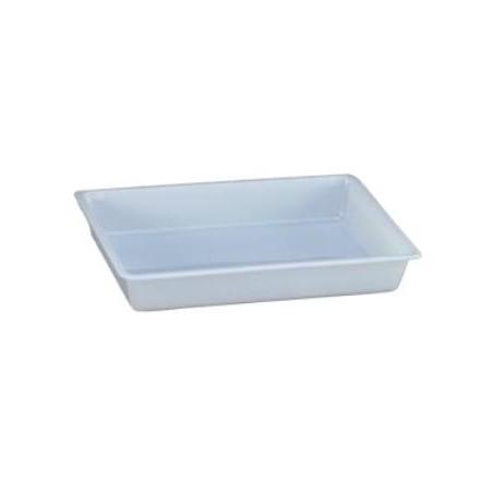 Cubeta rectangular 12 l. blanca
