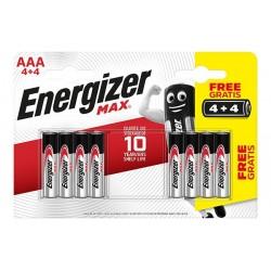 PILA ENERGIZER MAX LR03 AAA (BL 4+4) BR