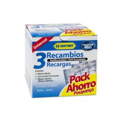 HUMYDRY RECAMBIO PACK 3 X 450 GRS.