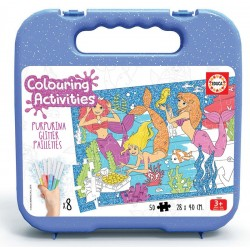 50 SIRENAS COLOURING ACTIVITIE