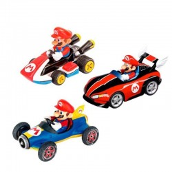 PACK 3 COCHES MARIO KART 1:43