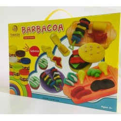PLASTILINA BARBACOA SET